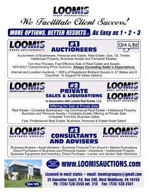 Loomis Auctioneers Monthly Internet Auctions