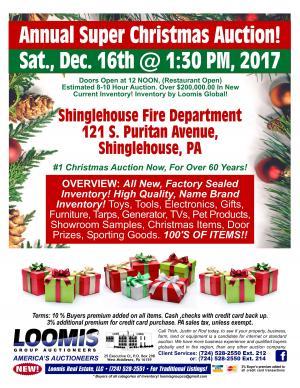 Annual Super Christmas Auction